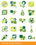 projektów elementy Obrazy Stock