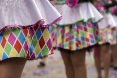 Projektów elementy karnawał suknia Zdjęcia Royalty Free