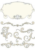 projektów elementy ustawiają royalty ilustracja