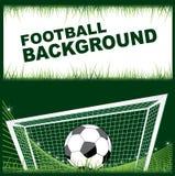 Projektów futbolowi elementy Zdjęcie Royalty Free