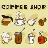 projektów kawowi elementy