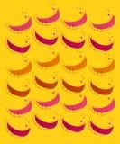 Projektów melony na złocie Fotografia Royalty Free