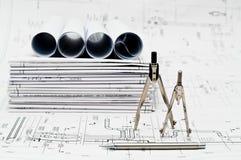 projektów projekta działanie Zdjęcie Stock