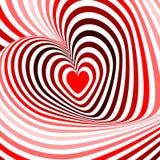 Projektów serca przekręca ruchu tło Obraz Stock
