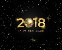 2018 projektów szablon dla wakacyjnego kartka z pozdrowieniami, zaproszenie, kalendarzowy plakat, sztandar Fotografia Stock