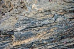 Projektów wzory na kamieniu przy górą przy Malaga, Hiszpania, Europ Obrazy Stock
