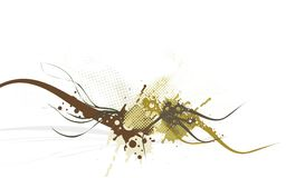 projekt abstrakcyjne ilustracji