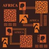 projekt afrykańskiej Zdjęcia Stock