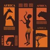projekt afrykańskiej Obraz Royalty Free