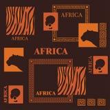 projekt afrykańskiej Fotografia Stock