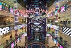 projekt atrium w centrum handlowym Evropeisk Obraz Royalty Free