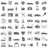 projekt auto ikony ustawiają ty Zdjęcia Royalty Free