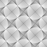 Projekt bezszwowej elipsy geometryczny wzór Obrazy Stock