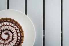 Projekt deseniowa kawa Zdjęcia Royalty Free