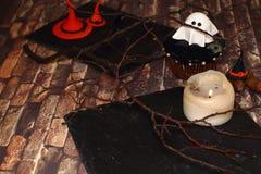 Projekt dla Halloween - duch Obraz Stock