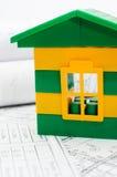 projekt domowa zabawka Obrazy Stock