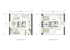 Projekt för litet hus royaltyfri illustrationer