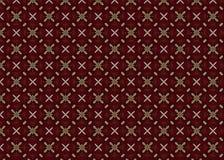 Projekt geomorfologiczny Abstrakt nowożytny Czerwony kolor struktura ilustracja wektor