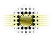 projekt glansowany przycisk Zdjęcie Stock