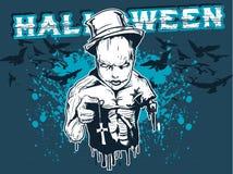 projekt Halloween. ilustracja wektor