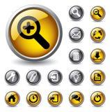 projekt ikony ustawiają sieć Zdjęcie Royalty Free