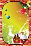 projekt karty świąteczne Fotografia Stock