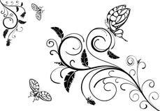 projekt kwiecisty ilustracja wektor