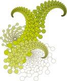projekt kwiecisty abstrakcyjne Zdjęcie Royalty Free