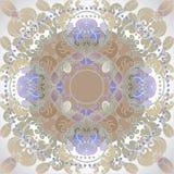 projekt kwiecisty Oriental Obrazy Royalty Free