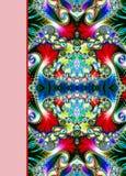 Projekt ślimakowata ornamentacyjna notatnik pokrywa Zdjęcia Stock
