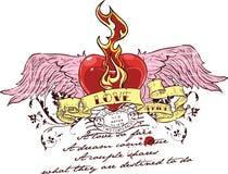 projekt miłości royalty ilustracja