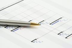 Projekt-Plan Lizenzfreie Stockfotografie
