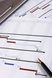 Projekt-Planung Stockfotografie
