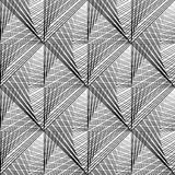 Projekt siatki bezszwowy monochromatyczny wzór Obraz Royalty Free