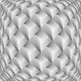 Projekt siatki diamentu monochromatyczny wichrowaty wzór Zdjęcie Royalty Free