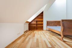 Projekt sypialnia Zdjęcia Stock