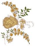 projekt twój ilustracyjny Paisley royalty ilustracja
