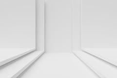 projekt white wewnętrznego Obraz Stock