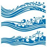 projekt wody Obraz Royalty Free