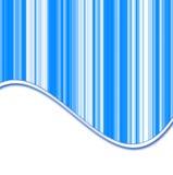 Projekt z błękitny lampasami i cieniami biel Ilustracja Wektor