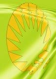 projekt zielony tło royalty ilustracja