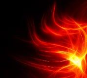 projekta abstrakcjonistyczny ogień Fotografia Stock
