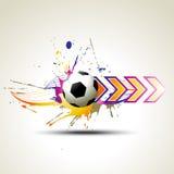 projekta artystyczny futbol Fotografia Stock