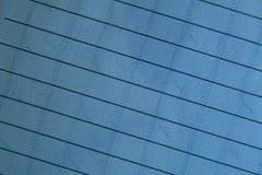 projekta błękitny papier rządził w Fotografia Stock
