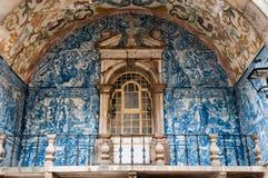 Projekta balkon w Obidos Obrazy Royalty Free