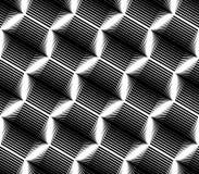 Projekta bezszwowego sześciokąta geometryczny wzór Obrazy Royalty Free