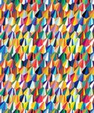 Projekta bezszwowego sześciokąta geometryczny wzór nosi abstrakcyjne tło royalty ilustracja
