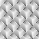 Projekta bezszwowy diamentowy geometryczny wzór Fotografia Stock