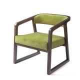 Projekta biznesowy krzesło odizolowywający Fotografia Royalty Free