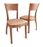 Projekta biznesowy krzesło odizolowywający Zdjęcia Royalty Free